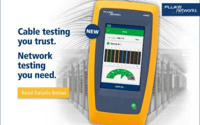 Now Offering LinkIQ™ Cable + Network Tester